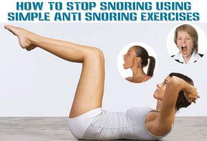 reduce a snoring problem
