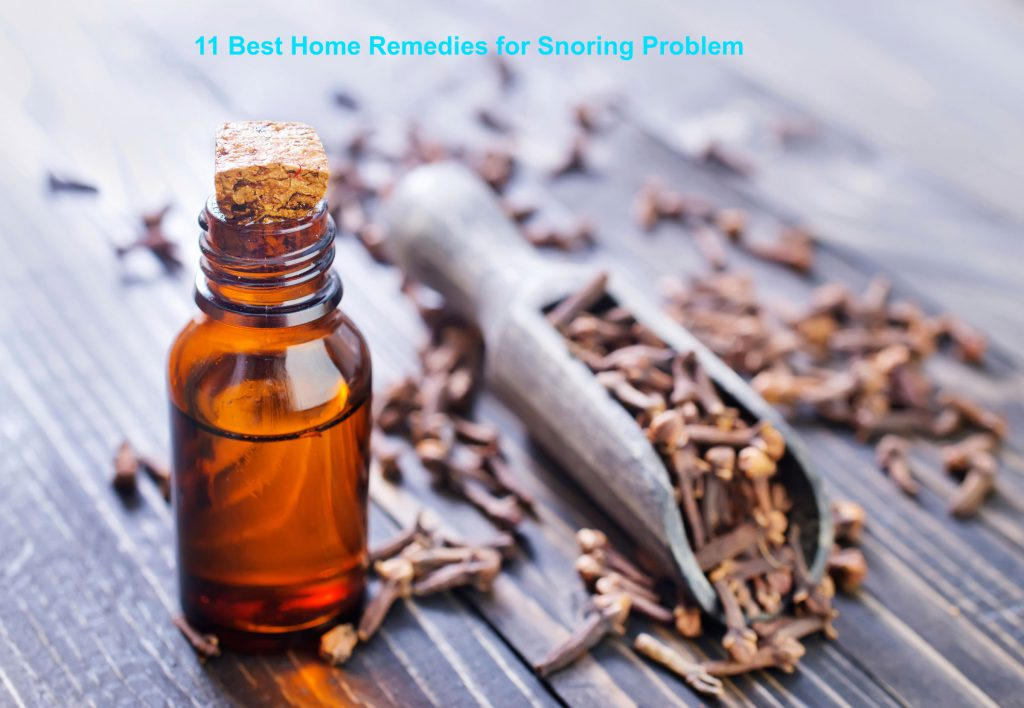 11 Best Home Remedies for snoring