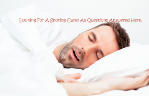 Snoring Cure